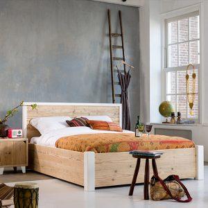 Steigerhout bed Listo