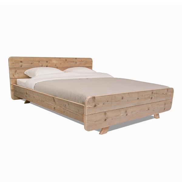 Steigerhout bed Retro