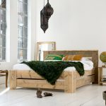 Steigerhout bed Simple 2.0