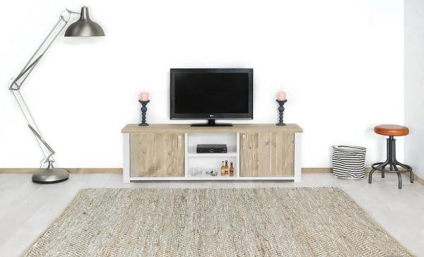 Steigerhout tv-meubel Cayenne - steigerhout - 140x50x45 hoog
