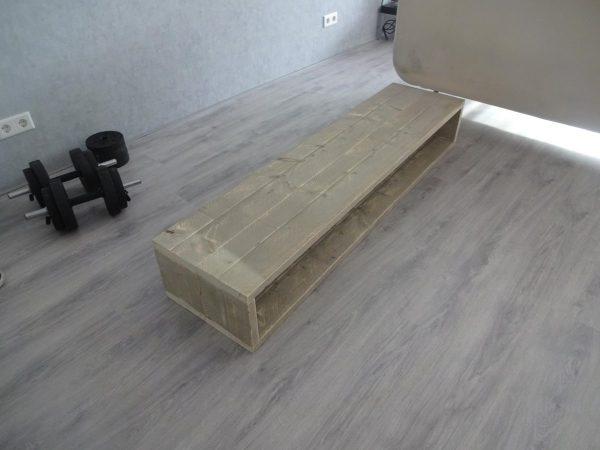 Steigerhouten TV meubel BOX