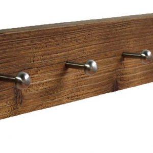 Wimpy Designs | Kapstok van gebruikt steigerhout met 9 knoppen