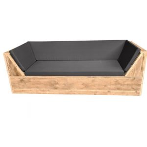 Wood4you - loungebank Phoenix Steigerhout 170Lx70Hx80D cm