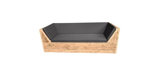 Wood4you - loungebank Phoenix Steigerhout 180Lx70Hx80D cm