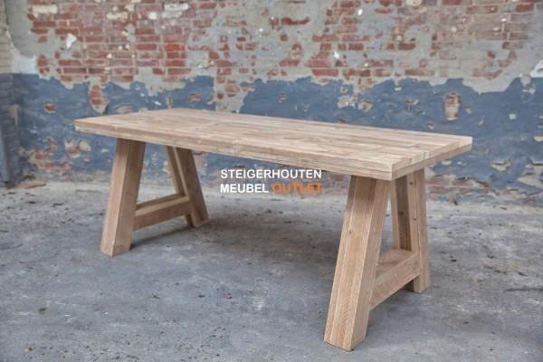 tafel steigerhout albany