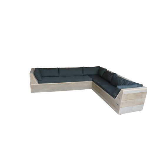 Wood4you loungebank 6 Steigerhout 230x200x70cm
