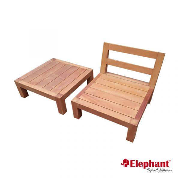 Elephant   Lounge element Trinidad zonder rug