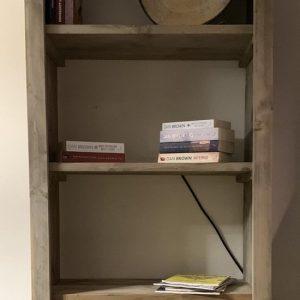 Open kast / boekenkast Tendenza | Steigerhout 1.80 x 80cm (B) | Quattro Design