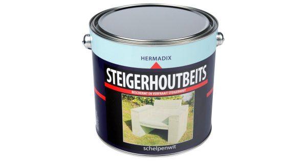 Steigerh.beits schelpen wit 2500 ml
