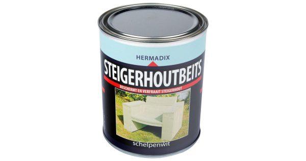 Steigerh.beits schelpen wit 750 ml