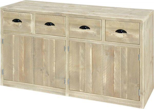 Steigerhout dressoir Lizzy - steigerhout - 160x50x80 h