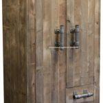 Steigerhouten kast Pascal – steigerhout – 80x60x180h