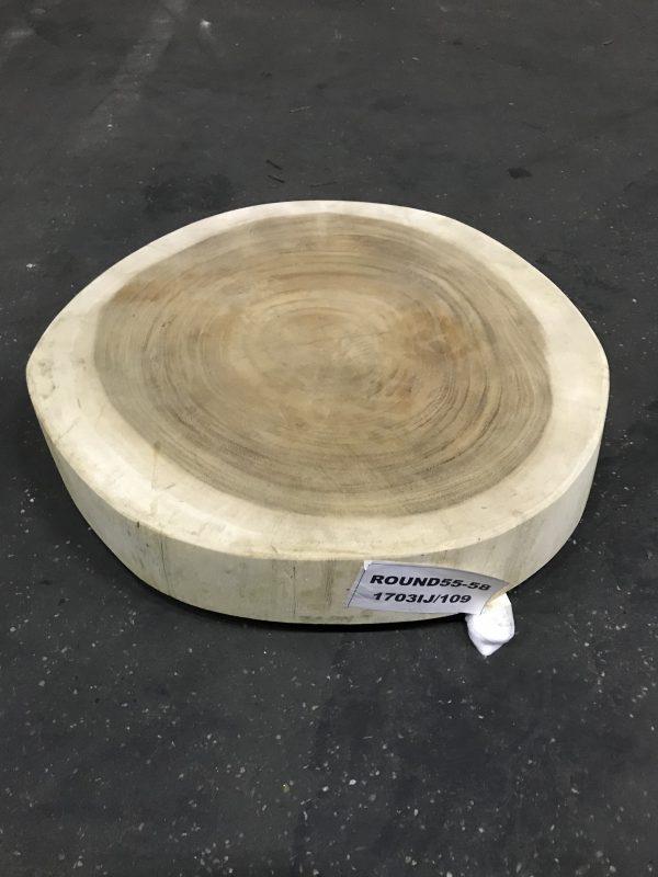 Westwood   Hardhouten tafelblad rond   150 cm