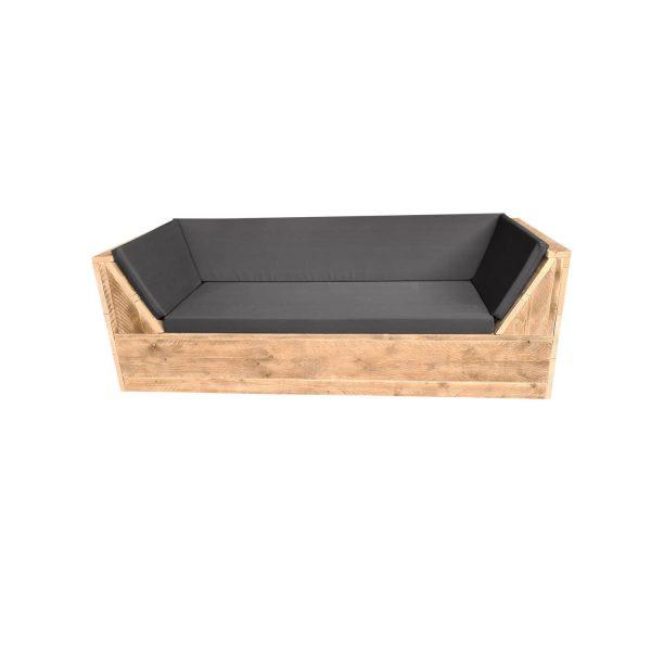 Wood4you - Loungebank Phoenix Steigerhout 200lx70hx80d Cm