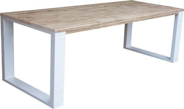 Wood4you - Loungebank steigerhout Washington 220Lx70Hx80D cm - incl kussens