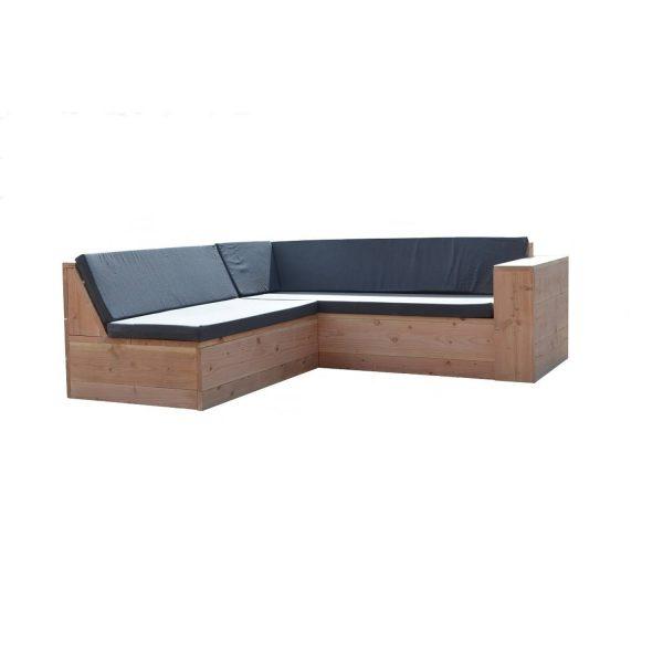 Wood4you - Loungeset Douglas San Francisco 240x240 Cm - Incl Kussens