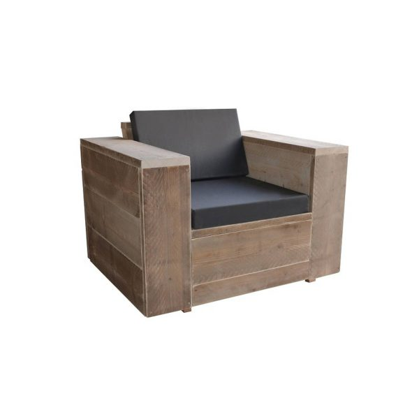 Wood4you - Loungestoel Washington 100lx60hx80d Cm