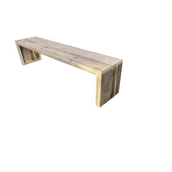 Wood4you - Tuinbank Amsterdam Steigerhout 180lx43hx38d Cm