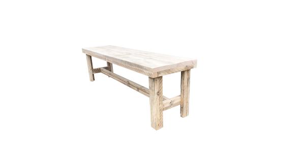Wood4you - Tuinbank Rotterdam steigerhout -160Lx43Hx38D cm