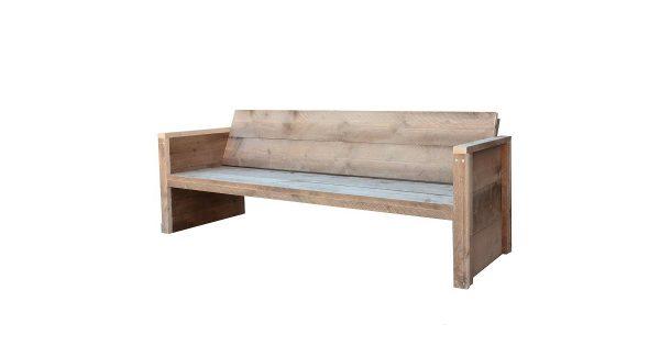 Wood4you - Tuinbank Vlieland - 'Doe het zelf' Bouwpakket steigerhout 180Lx57Hx72D cm