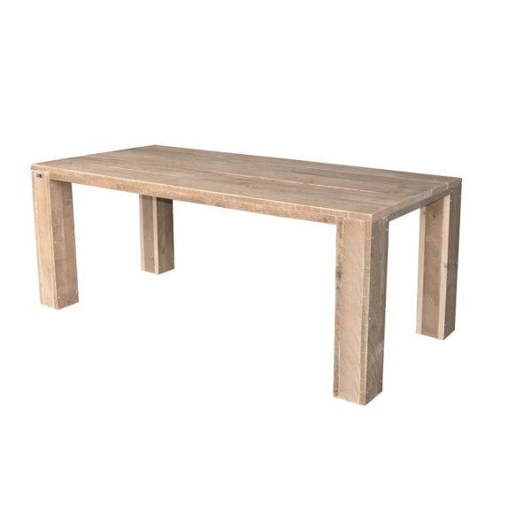 Wood4you - Tuintafel Chicago Steigerhout 180lx78hx74d Cm