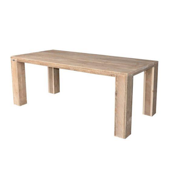 Wood4you - Tuintafel Chicago Steigerhout 220lx78hx90d Cm