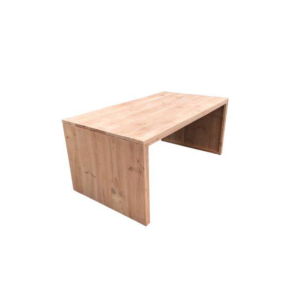 Wood4you - Tuintafel Dichte Zijkant Douglas - 200lx78hx72d Cm