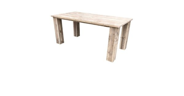 Wood4you - Tuintafel Texas Steigerhout 190Lx78Hx90D cm