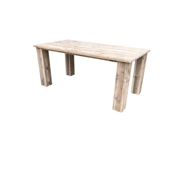 Wood4you - Tuintafel Texas Steigerhout 190lx78hx90d Cm