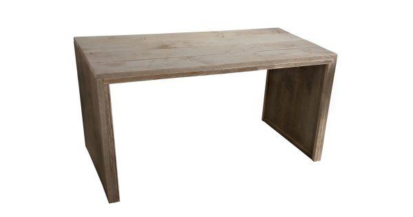 Wood4you - Tuintafel dichtezijkant steigerhout - 160Lx78Hx72D cm