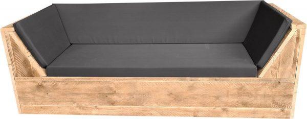 Wood4you - loungebank Phoenix Steigerhout 180Lx70Hx80D cm