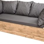 Wood4you – loungebank Phoenix Steigerhout 190Lx70Hx80D cm plof