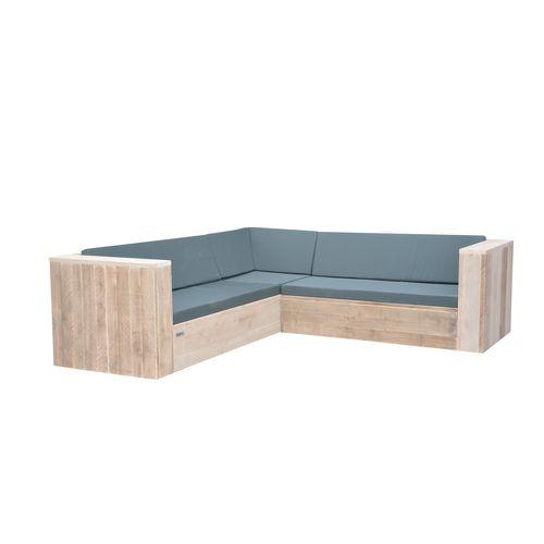 Wood4you loungeset One steigerhout 210x210x70cm