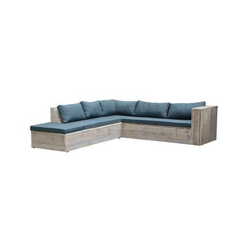 Wood4you loungeset Seven steigerhout 200x200x70cm