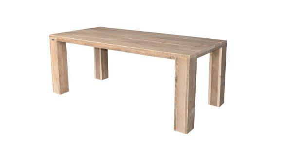 Wood4you - tuintafel Chicago Steigerhout 200Lx78Hx90D cm