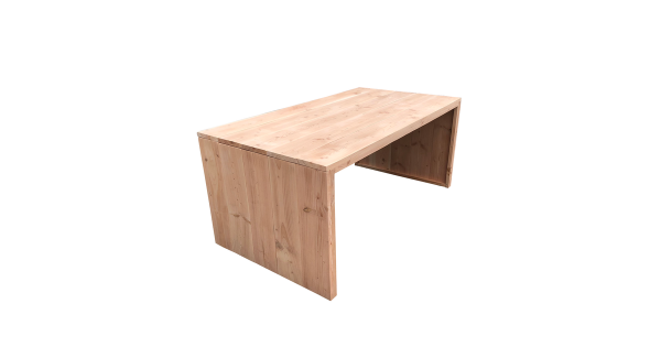 Wood4you - tuintafel dichte zijkant Douglas - 150Lx78Hx72D cm