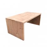Wood4you – tuintafel dichte zijkant Douglas – 160Lx78Hx90D cm