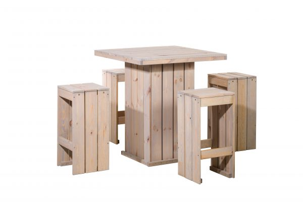 Woodvision   Bartafel set