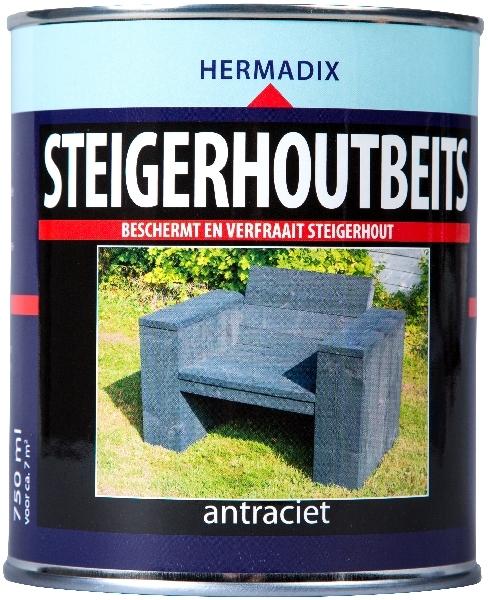 hermadix steigerhoutbeits white wash 750 ml