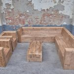 loungeset steigerhout compleet