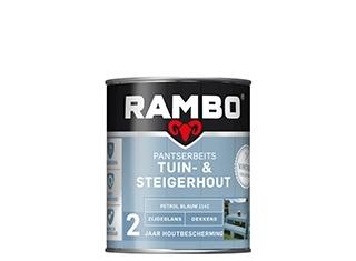 rambo pantserbeits tuin en steigerhout zg dekkend poeder beige 1146 750 ml