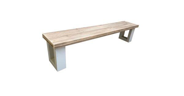 wood4you - Tuinbank New England Steigerhout 160Lx40Hx38D cm
