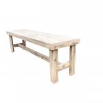 wood4you – Tuinbank Rotterdam steigerhout -140Lx43Hx36D cm