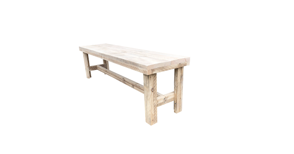 wood4you - Tuinbank Rotterdam steigerhout -160Lx43Hx36D cm