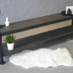 Design85 – steigerbuis – tv meubel – zwart