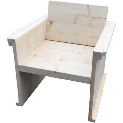 Steigerhout bouwpakket loungestoel