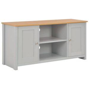 Vidaxl Tv-meubel 120x39x58 Cm Grijs