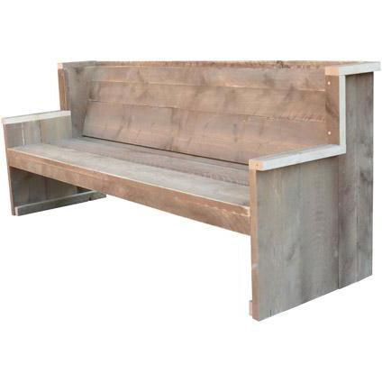 Wood4You tuinbank Zeeland bouwpakket steigerhout 188cm