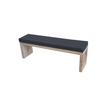 Wood4You tuinbank steigerhout met kussen 200cm
