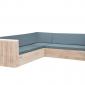 Wood4you - Loungeset 2 steigerhout 240x200 cm - incl kussens - GL